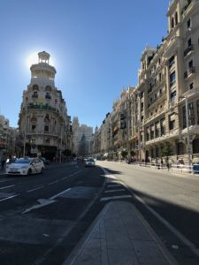 Madrid summer internship