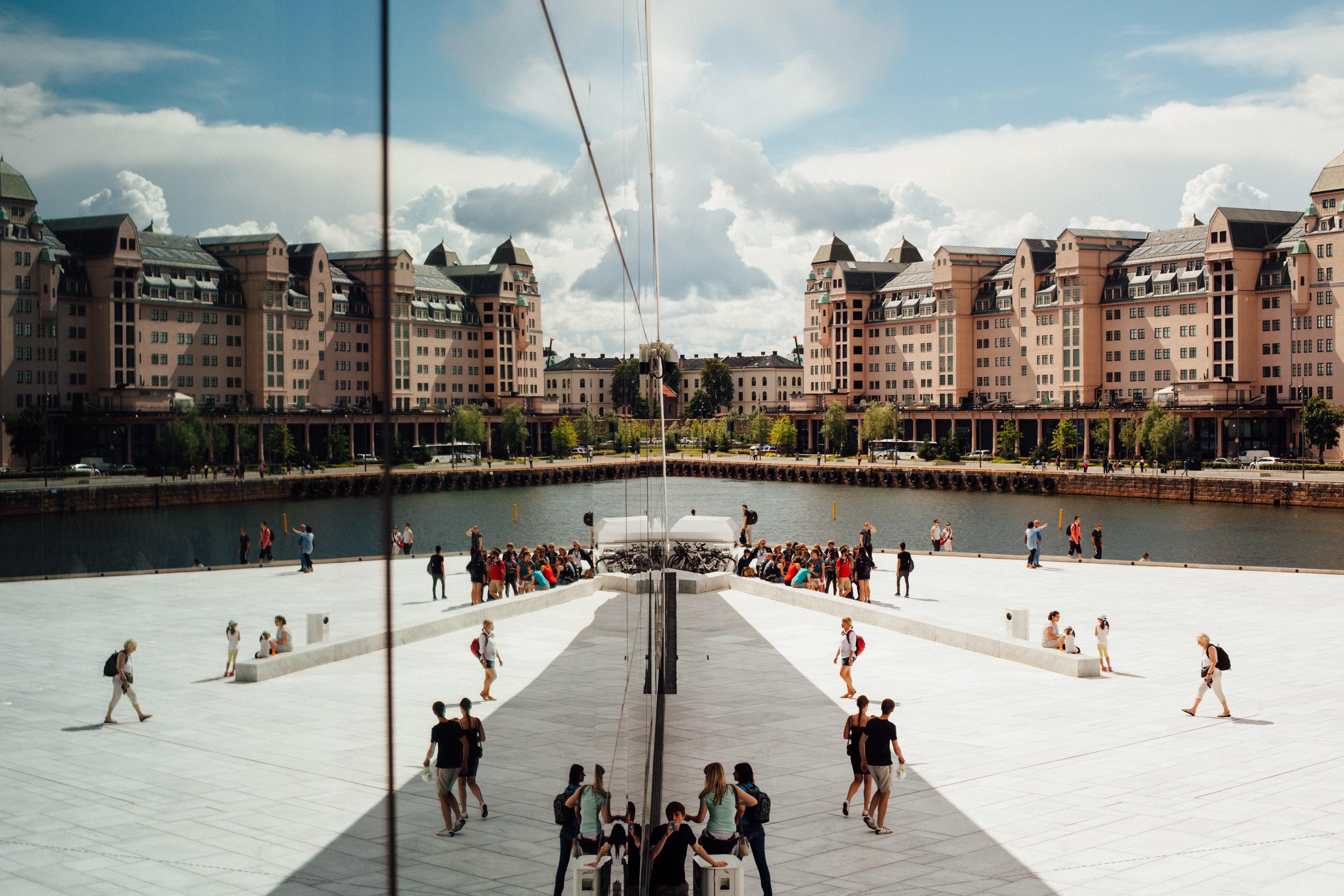 Oslo city attraction